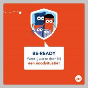 Be Ready Noodsituatie België