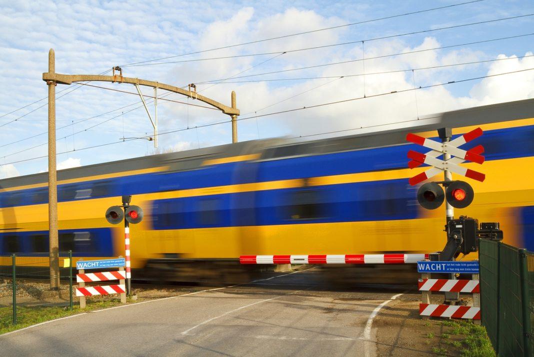 Trein overweg
