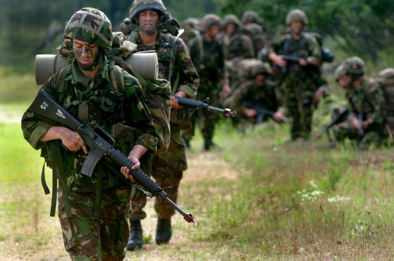 militaire oefening