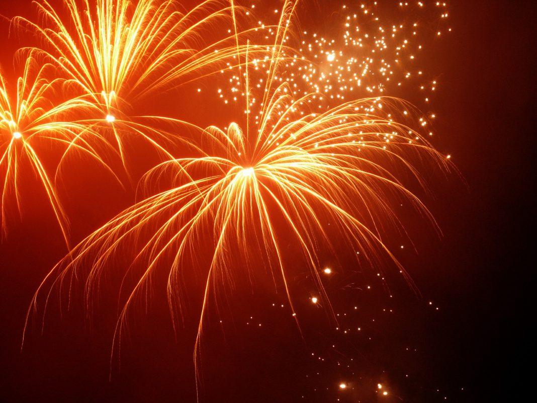 vuurwerk oudjaar nieuwjaar